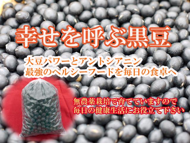 幸せを呼ぶ黒豆640